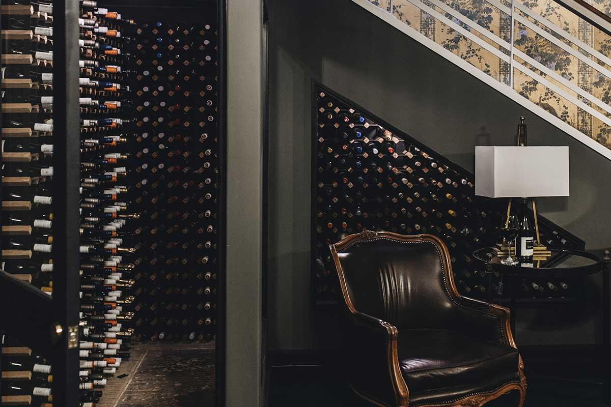 Berida Hotel, Bowral, Wine cellar