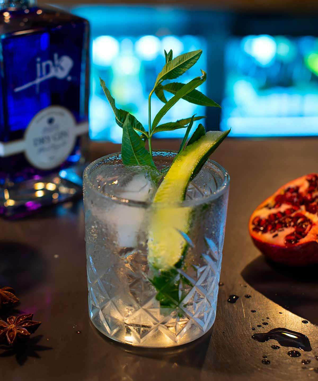 Gin Bar, Berida Hotel, The Gin Trading Co.
