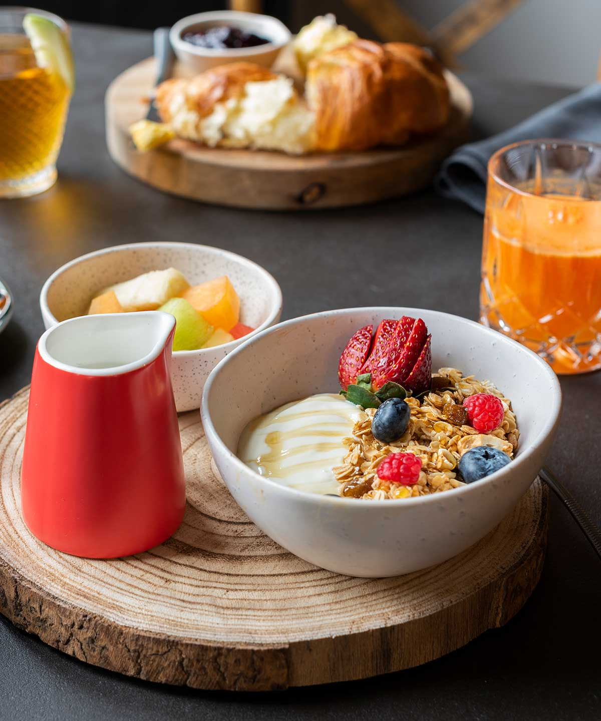 Berida Hotel, Bowral, Breakfast